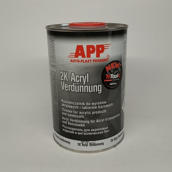 APP Растворитель акриловый APP-2K-Acryl-Verdünnung-AVN нормальний 1л