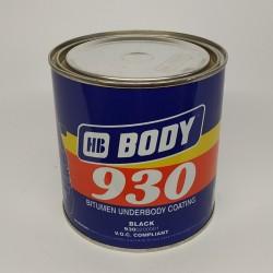 BODY Мастика 930 черный 1 кг