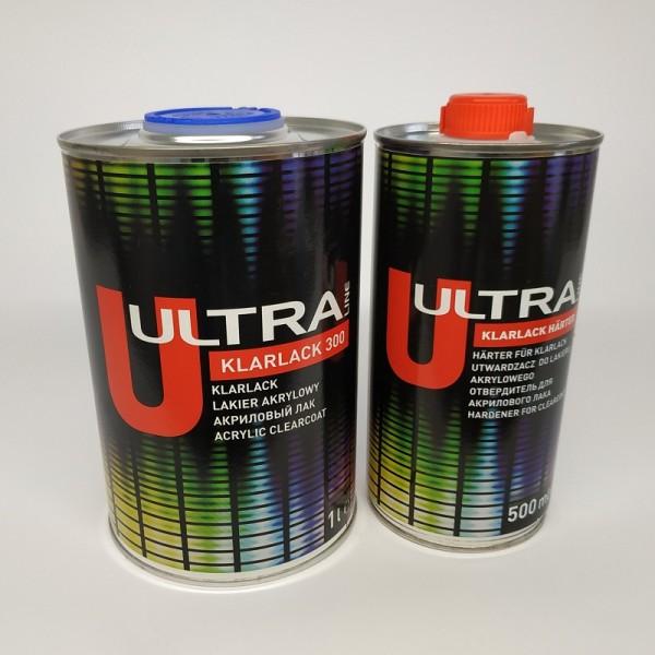 NOVOL ULTRA LINE 300 Бесцветный акриловый лак NOVOL 2+1 (1,0+0,5)