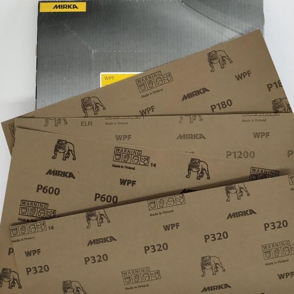 Абразивні аркуші MIRKA WPF водостійка 220