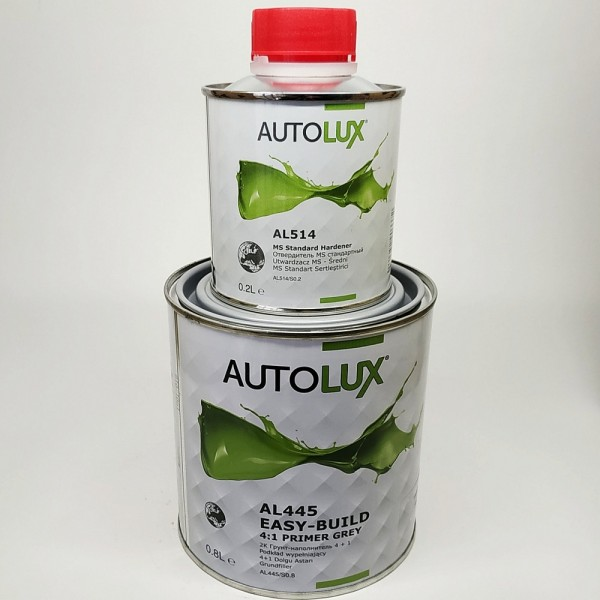 AVTOLUX AL 445 2К грунт 0,8л + отвердитель 0,2л