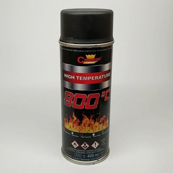 Champion 800*С черн 400 мл термостойкая эмаль