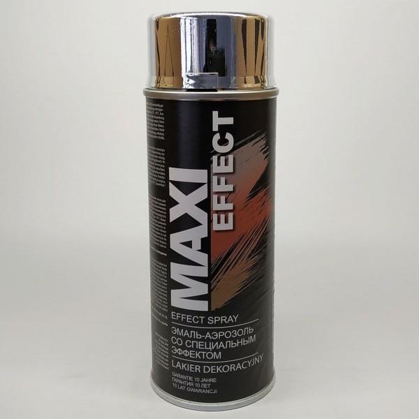 Эмаль аэрозольная Maxi Color эффектом хрома 400 мл