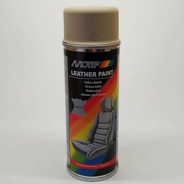 Эмаль аэрозольная для покраски кожи бежевая Motip 200 мл