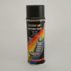 Эмаль аэрозольная для покраски кожи черная Motip 200 мл