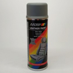 Эмаль аэрозольная для покраски кожи серая Motip 200 мл