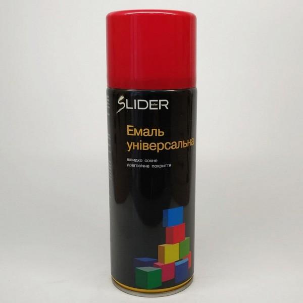 LIDER Эмаль универсальная RAL 400 мл (3002 тёмно-красная)