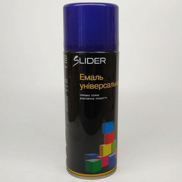 LIDER Эмаль универсальная RAL 400 мл (5022 тёмно-синяя)