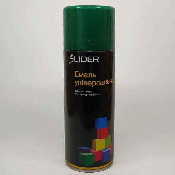 LIDER Эмаль универсальная RAL 400 мл (6005 тёмно-зеленая)