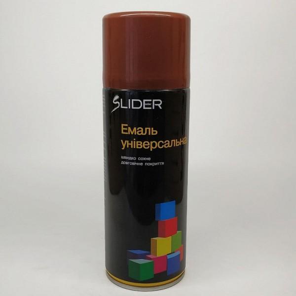 LIDER Эмаль универсальная RAL 400 мл (8011 коричневая)
