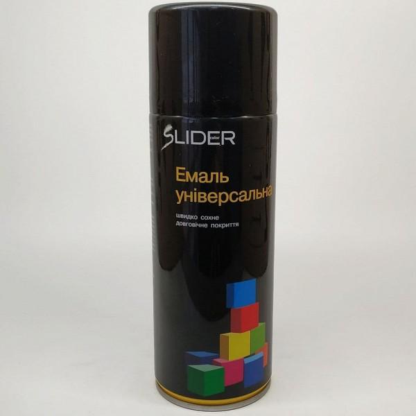 LIDER Эмаль универсальная RAL 400 мл (9005 черная)