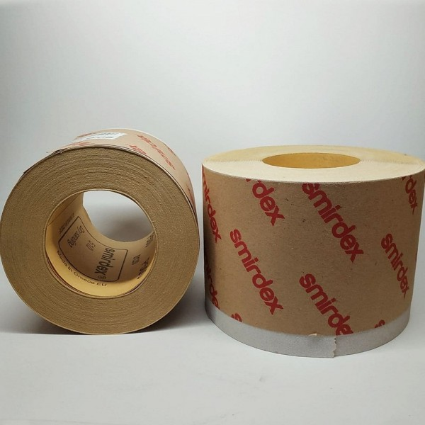 Нажд.бумага SMIRDEX Рулон белый 116 ммх25м 510 Р150