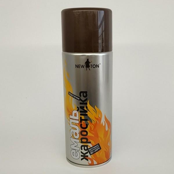 Ньютон Эмаль жаростойкая 600С 400 мл (коричневая)