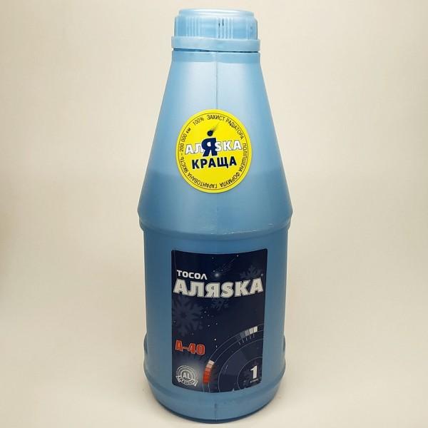 Рідина анти-замерзаюча Аляска Тосол А-40(еко) 1кг