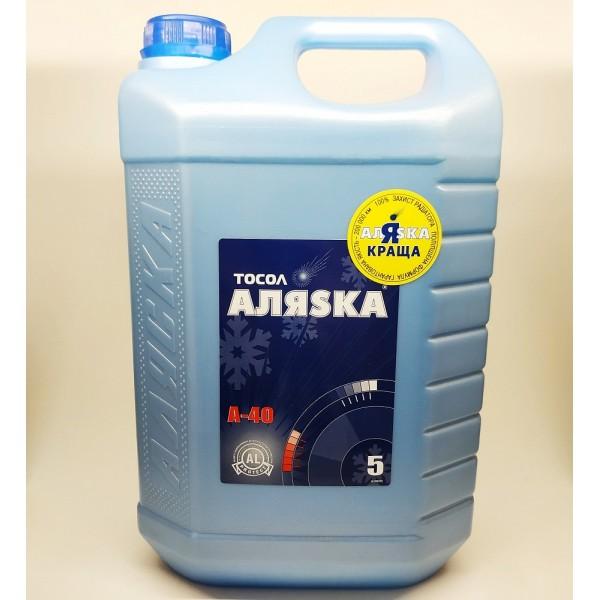 Рідина анти-замерзаюча Аляска Тосол А-40(еко) 5кг