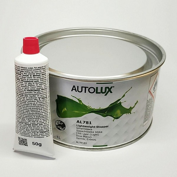 AVTOLUX AL 781 шпатлевка LEKKA 1л.