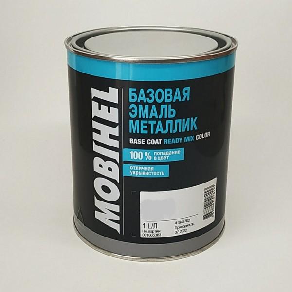 MOBIHEL 478 СЛИВА 1л , базовая эмаль металлик
