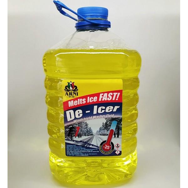 Омыватель зимний -25С Arni 5л. Лимон
