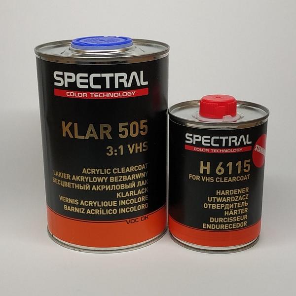 Лак бесцветный SPECTRAL KLAR 505 VHS 3+1