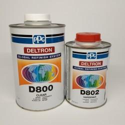 PPG Лак DELTRON D 800 1 л + 0,5 л отвердитель