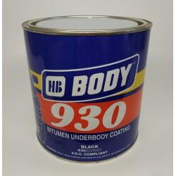 BODY Мастика 930 черный 2,5 кг