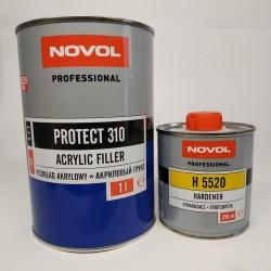 NOVOL PROTECT 310 Акриловый грунт HS 4+1 серый 1,0 + 0,25 л отвердителя
