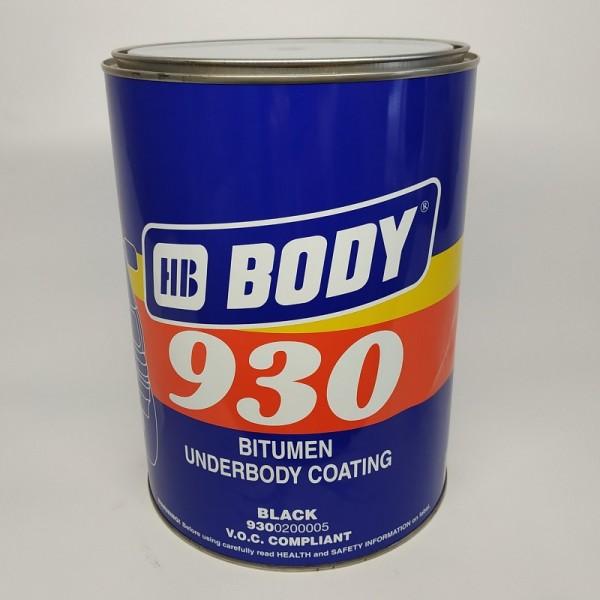 BODY Мастика 930 черный 5 кг