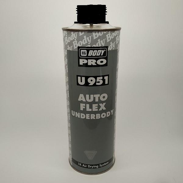 Антикорозійний склад Body AUTOFLEX SPECIAL 951 черный 1000 мл