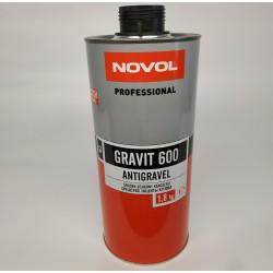 Антикоррозийное покрытие NOVOL GRAVIT 600 MS 1,8 л черный