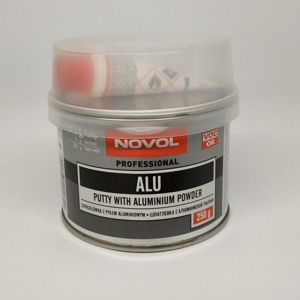 NOVOL Шпатлевка ALU с алюминиевой пылью 0,25 кг
