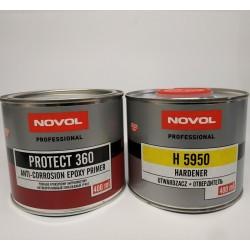NOVOL PROTEKT 360 Эпоксидный грунт 1+1, 0,4 л + 0,4 л отвердителя