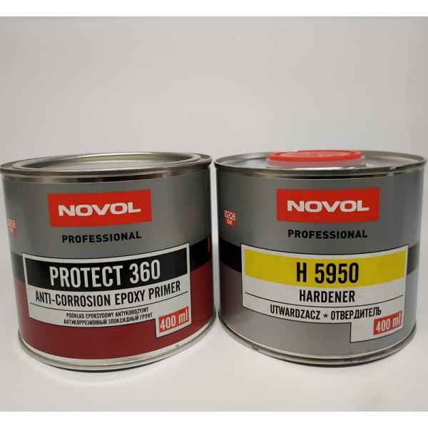 NOVOL PROTECT 360 Эпоксидный грунт 1+1, 0,4 л + 0,4 л отвердителя