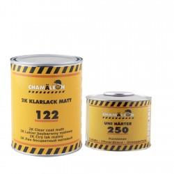 CHAMAELEON 122 лак акриловый матовый 1л + 250 отвердитель HS 0,5л