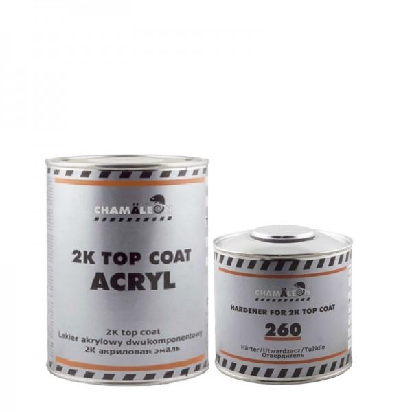 CHAMAELEON 425 Адриатика 0,8 л+0,4 л отвердитель Top Coat