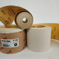 Наждачная бумага SMIRDEX Рулон белый 116ммх50м SMIRDEX WHITE DRY SANTING LINE 523