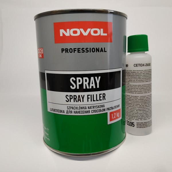 NOVOL Шпатлевка Spray 0,8 л