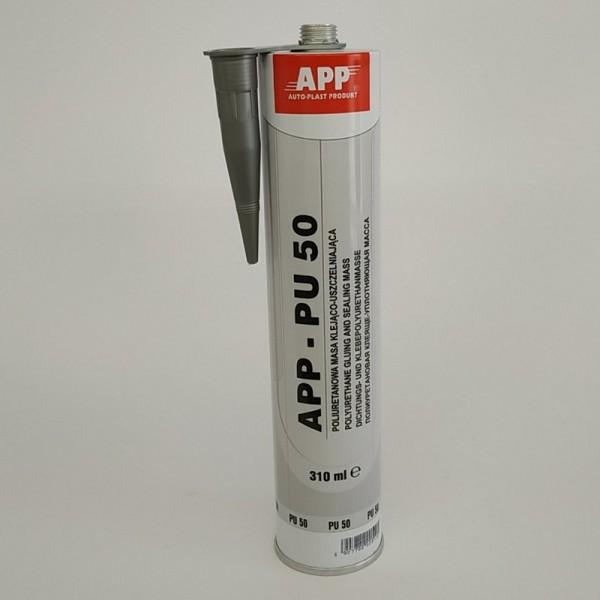 APP Полиуретановый гермет под пистолет PU 50 серый 310 мл