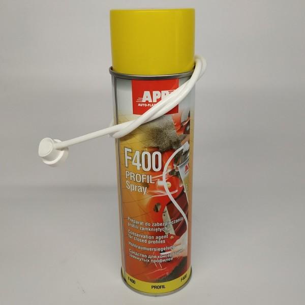 APP Средство для защиты скрытых полостей F400 Aerozol бурштыновый