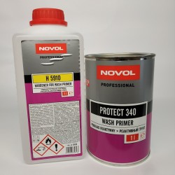 NOVOL PROTEKT 340 Реактивный грунт WASHPRIMER комплект 1,0 л + 1,0 л отвердителя