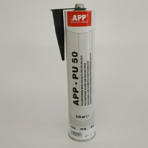 APP Полиуретановый гермет под пистолет PU 50 черный 310 мл