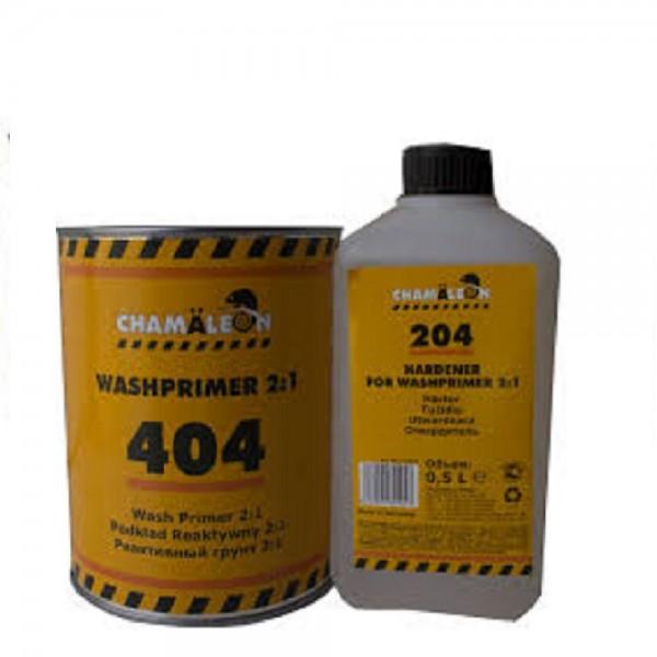 CHAMAELEON 404 Wash Primer грунт реактивный 1 л + 204 отвердитель 0,5 л