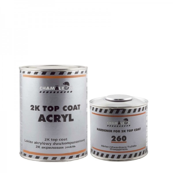CHAMAELEON 208 Охра золотистая 0,8 л+0,4 л отвердитель Top Coat