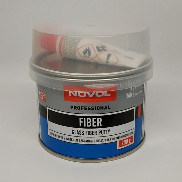 NOVOL Шпатлевка Fiber со стекловолокном 0,20 кг