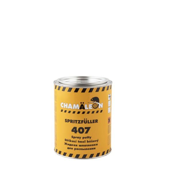 CHAMAELEON 407 шпатлевка жидкая+отвердитель 1л