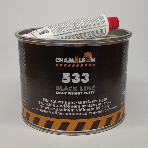 CHAMAELEON 533 шпатлевка легкая со стекловолокном Light Weight Putty 500 мл