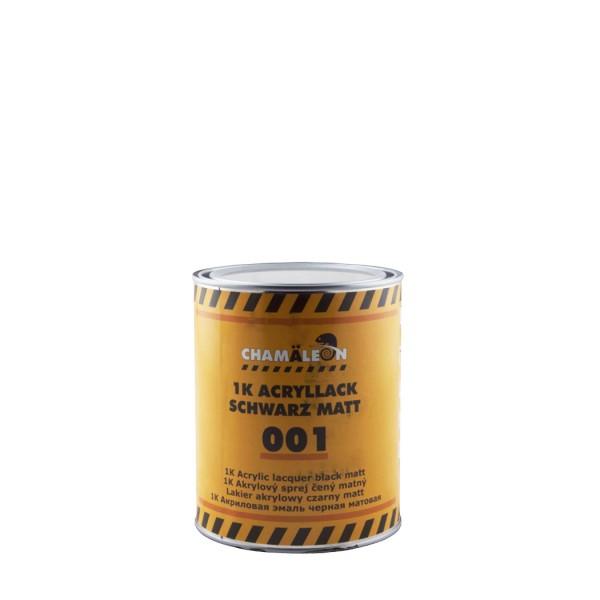 CHAMAELEON 002 1К Акриловая эмаль серебрянная RAL 9006 1л
