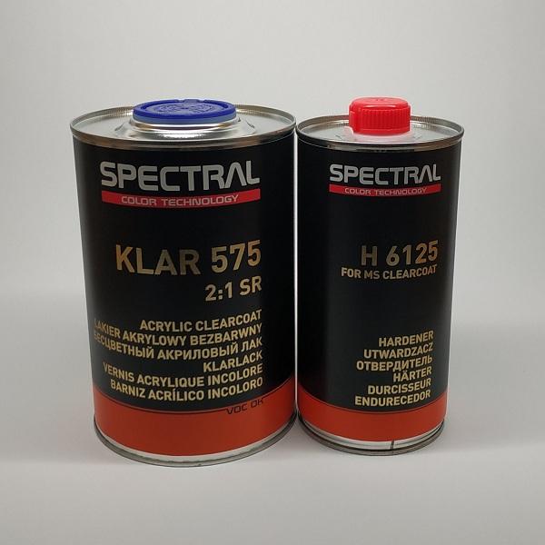 Лак бесцветный NOVOL SPECTRAL KLAR 575 (SR) 2+1