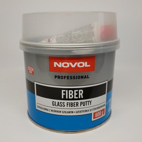 NOVOL Шпатлевка Fiber со стекловолокном 0,60 кг