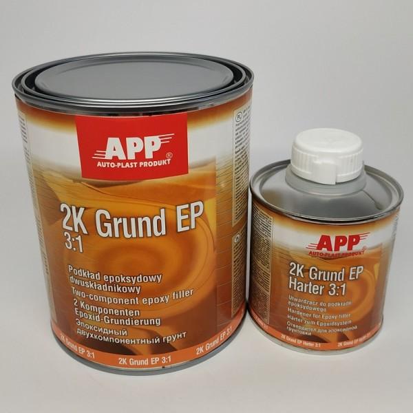 APP Грунт эпоксидный APP 2K-Grund EP 1 л + 0,2 л отвердитель