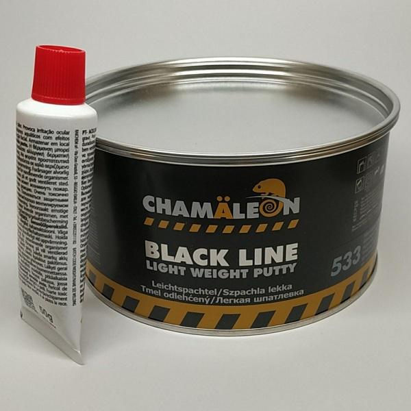 CHAMAELEON 533 шпатлевка легкая со стекловолокном Light Weight Putty 1000 мл